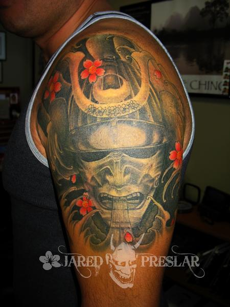 Tattoos - Samurai Mask - 64358