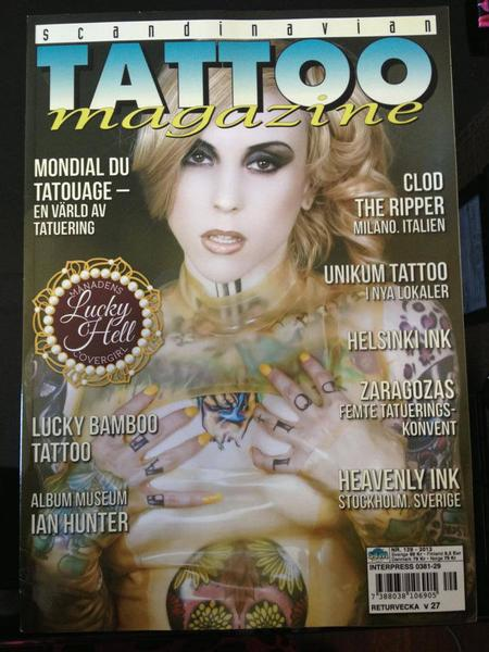 Tattoos - Scandinavian Tattoo Magazine Feature  - 100311