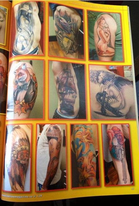 Tattoos - Scandinavian Tattoo Magazine Feature Page 4 - 100307