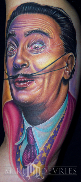 Tattoos - Dali Tattoo - 25154