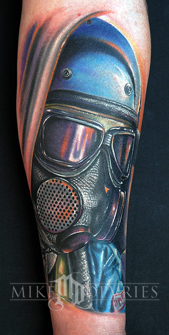 Mike DeVries - Drag Racer Tattoo