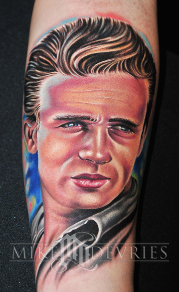 Tattoos - James dean - 26987