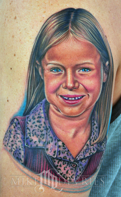 Tattoos - Lil girl Tattoo - 30598