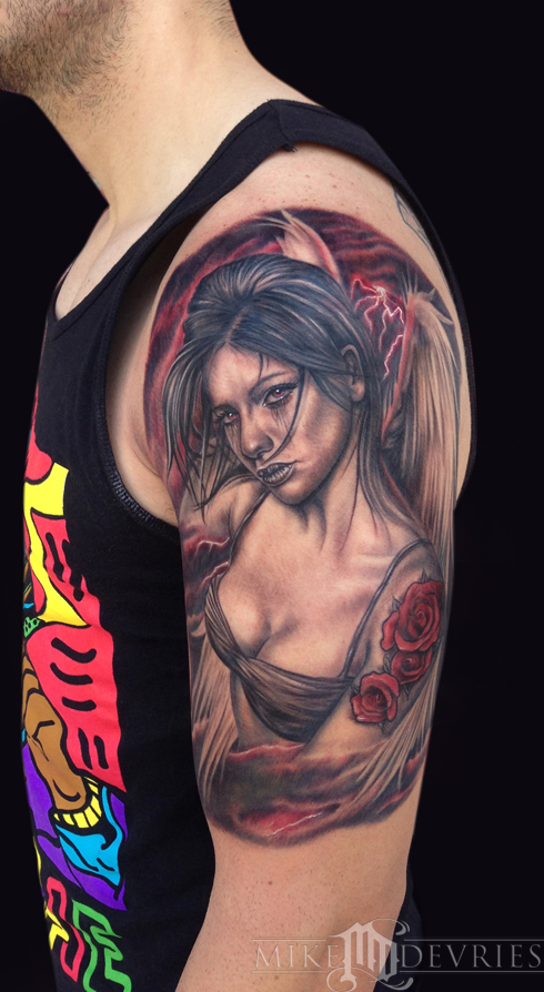Mike DeVries - Angel Tattoo
