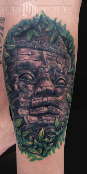 Angkor Wat By Mike Devries Tattoos