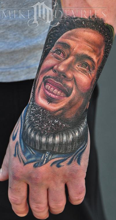 Tattoos - Bob Marley Tattoo - 54685