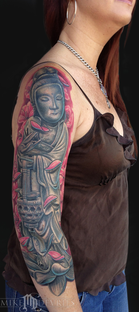 Mike DeVries - Guan Yin Statue
