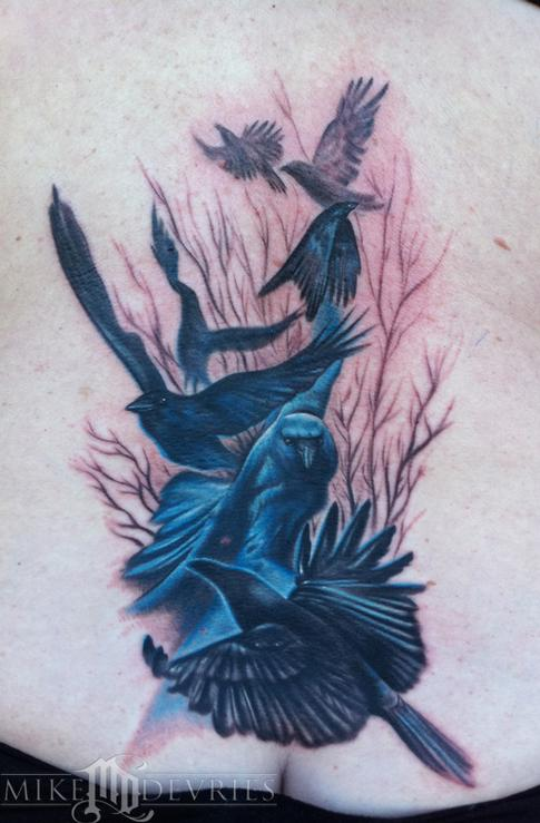 Mike DeVries - Crow Tattoos