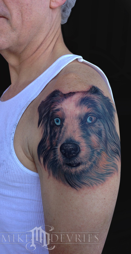 Tattoos - Dog Portrait  - 75747