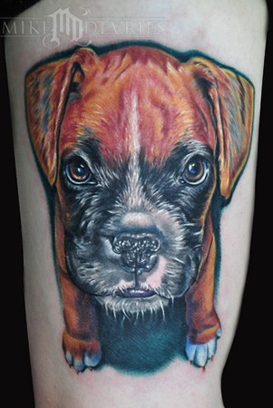 Tattoos - Dog Tattoo - 43157