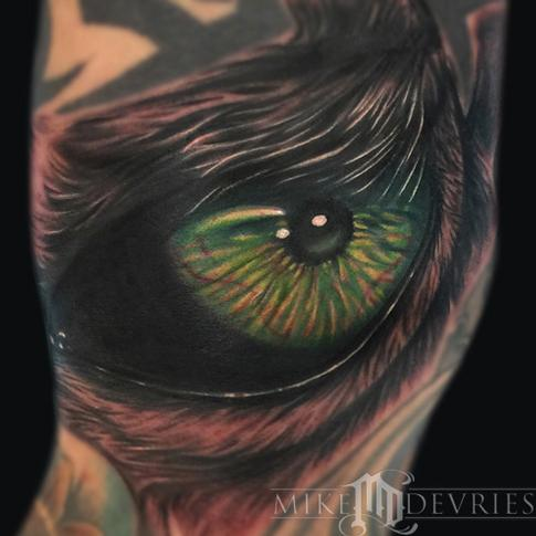 Tattoos - Eye Tattoo  - 96489