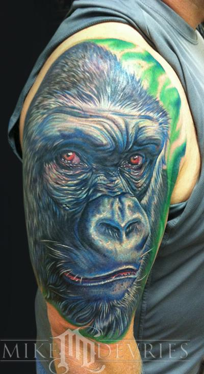Tattoos - Gorilla Tattoo - 54683