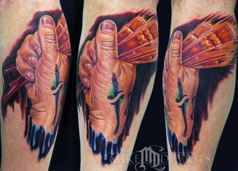 Tattoos - Hand Tattoo - 54498