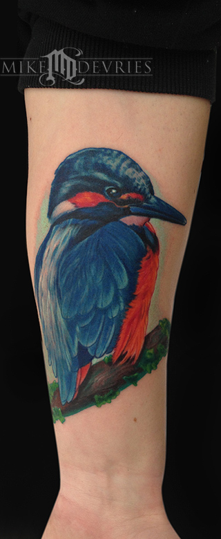 Tattoos - Kingfisher Tattoo - 71679