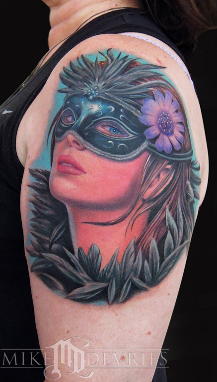 Tattoos - Masquerade Girl  - 73299