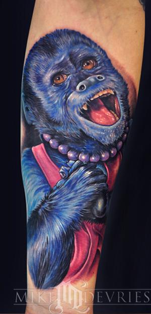 Mike DeVries - Monkey Tattoo