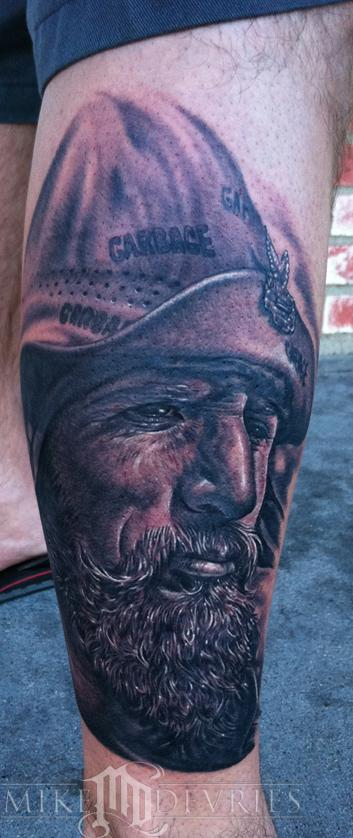 Tattoos - Old Biker Pic - 57395