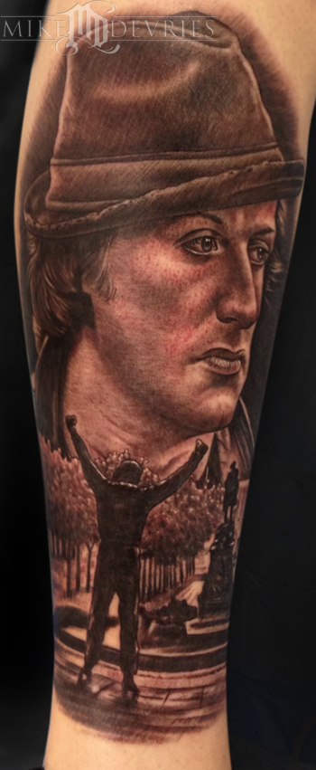 Mike DeVries - Rocky Tattoo