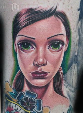 Tattoos - Sas Girl Tattoo - 46699
