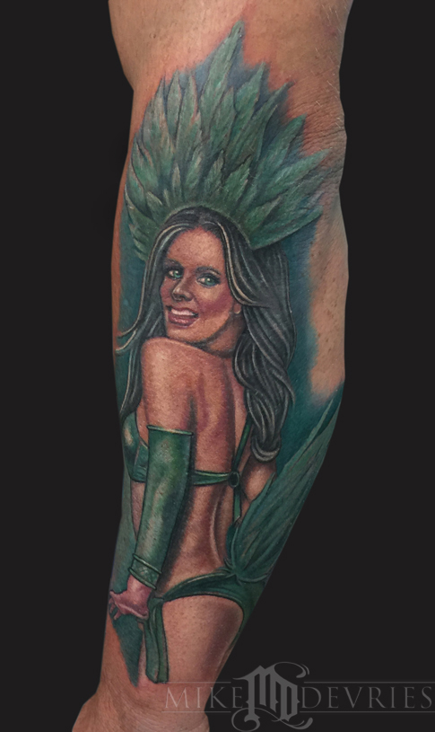 Tattoos - Showgirl Tattoo - 102450