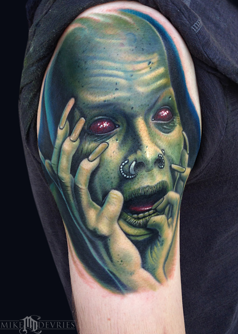 Mike DeVries - Sopor Aeternus Tattoo