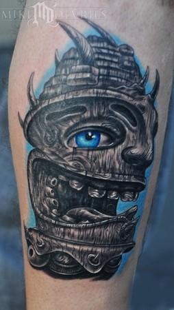 Tattoos - Tiki Tattoo - 48960