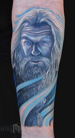 Mike DeVries - Wizard Tattoo