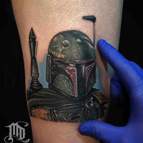 Tattoos - Boba Fett Tattoo - 134125
