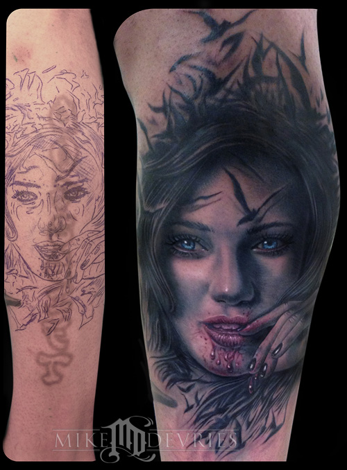 Tattoos - Evil Girl - 73302