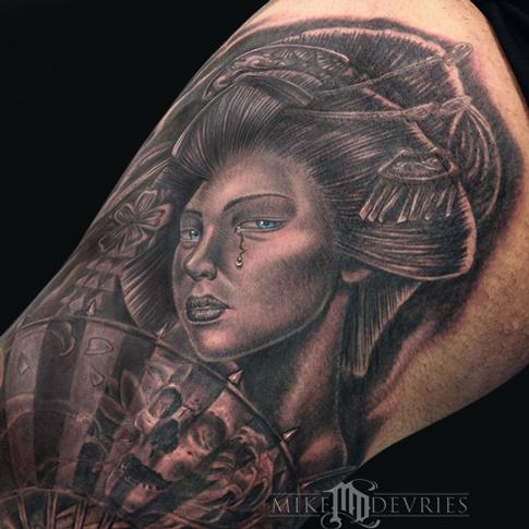 Mike DeVries - Geisha Tattoo