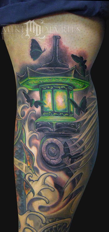 Tattoos - Japanese Lantern  - 72839