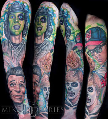 Mike DeVries - Movie Sleeve