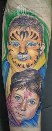 Mike DeVries - Kids Face Paint Tattoo