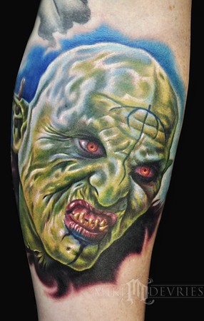 Mike DeVries - Orc Tattoo