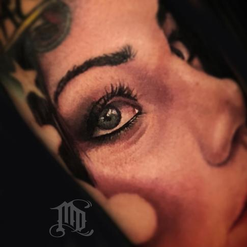 Tattoos - Realistic eye tattoo - 134126