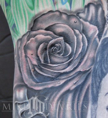 Tattoos - Rose Tattoo - 36203