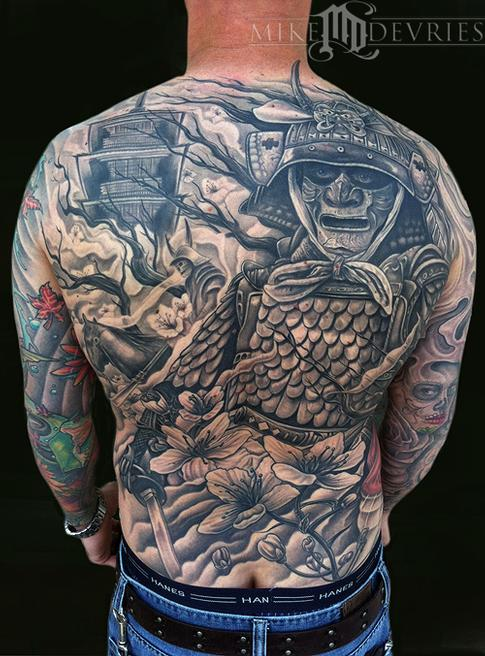 Tattoos - Samurai Tattoo - 64254