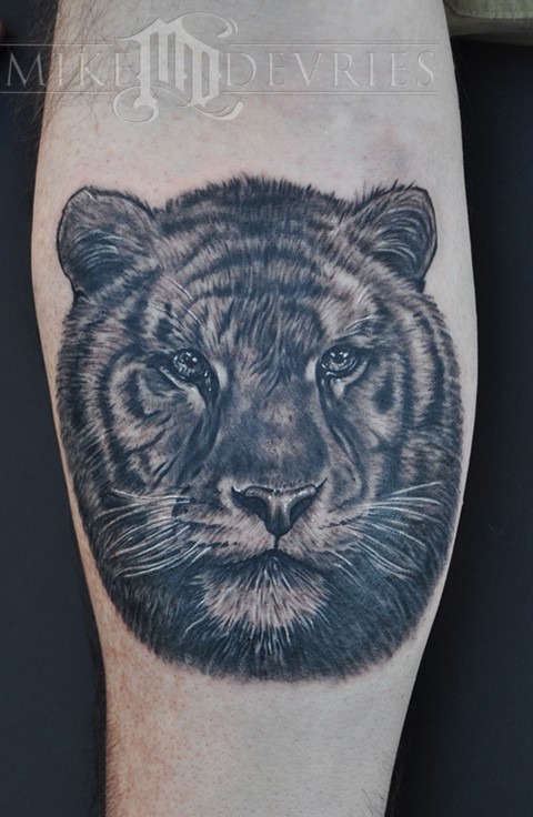 Tattoos - Tiger Tattoo - 52836
