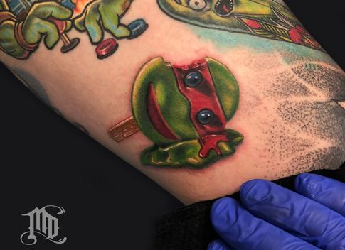Tattoos - TMNT ICE CREAM TATTOO - 134127