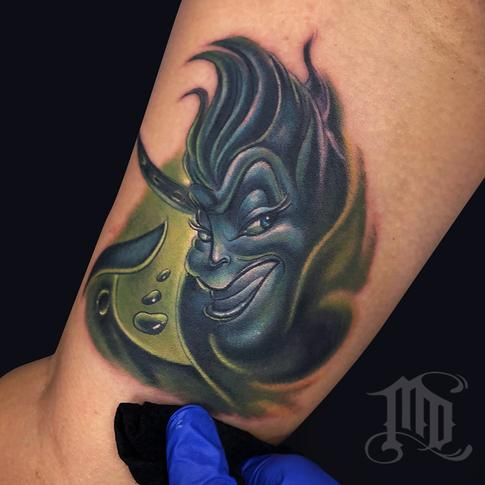 Mike DeVries - URSULA TATTOO