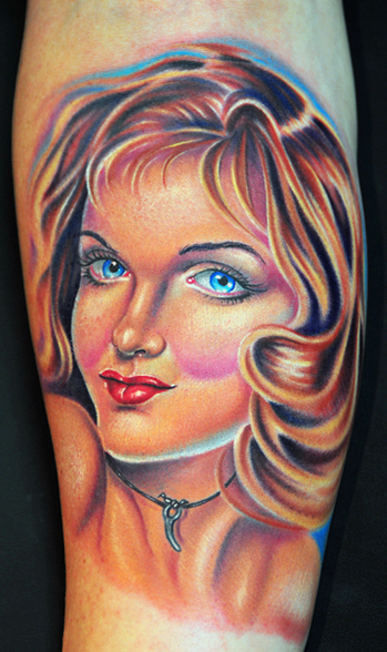 Tattoos - Pin up - 26982