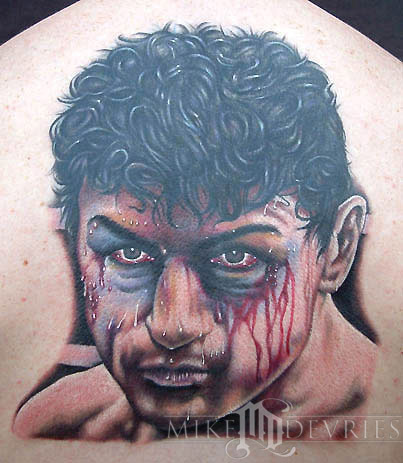 Tattoos - Deniro in Raging Bull - 16533