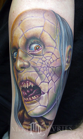 Tattoos - Zombie Tattoo - 19955
