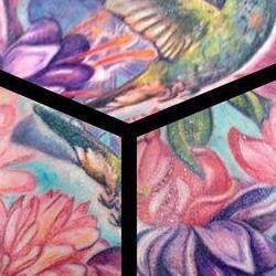 Tattoos - Jessicas Lush Floral garden - 91873