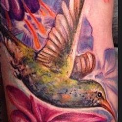 Tattoos - Jessicas Lush Floral garden - 91872