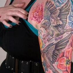 Tattoos - Barn swallow family - 73515