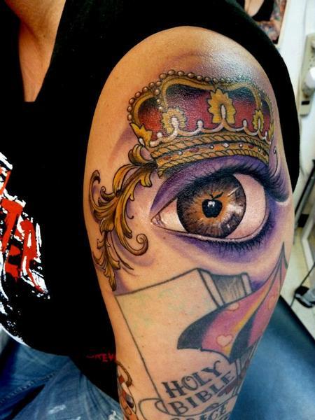 Tattoos - Apple of my eye - 75611