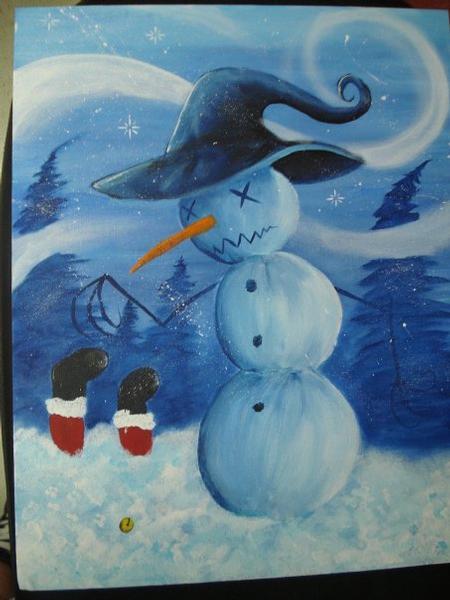 Tattoos - Snowman - 64050