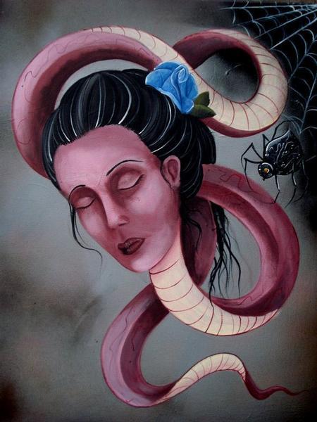 Tattoos - Serpent lady - 64037
