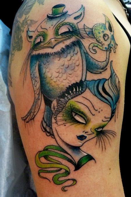 Tattoos - Camille Rose Garcia design - 75622